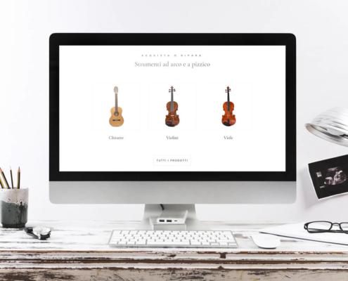 sito web e-commerce code85